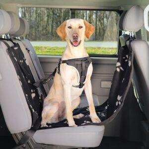 TRIXIE Sätesskydd för hundar 65x145 cm svart och beige 13231