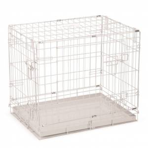 Beeztees Hundbur 62x44x49 cm grå