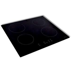 vidaXL Inbyggd induktionshäll med 4 kokytor EUROKERA-glas