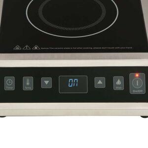 vidaXL Induktionsplatta med touch-display 3500 W