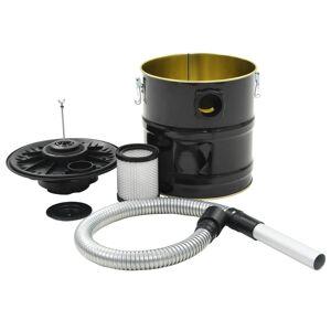 vidaXL Asksug med HEPA-filter 1000 W 20 L svart