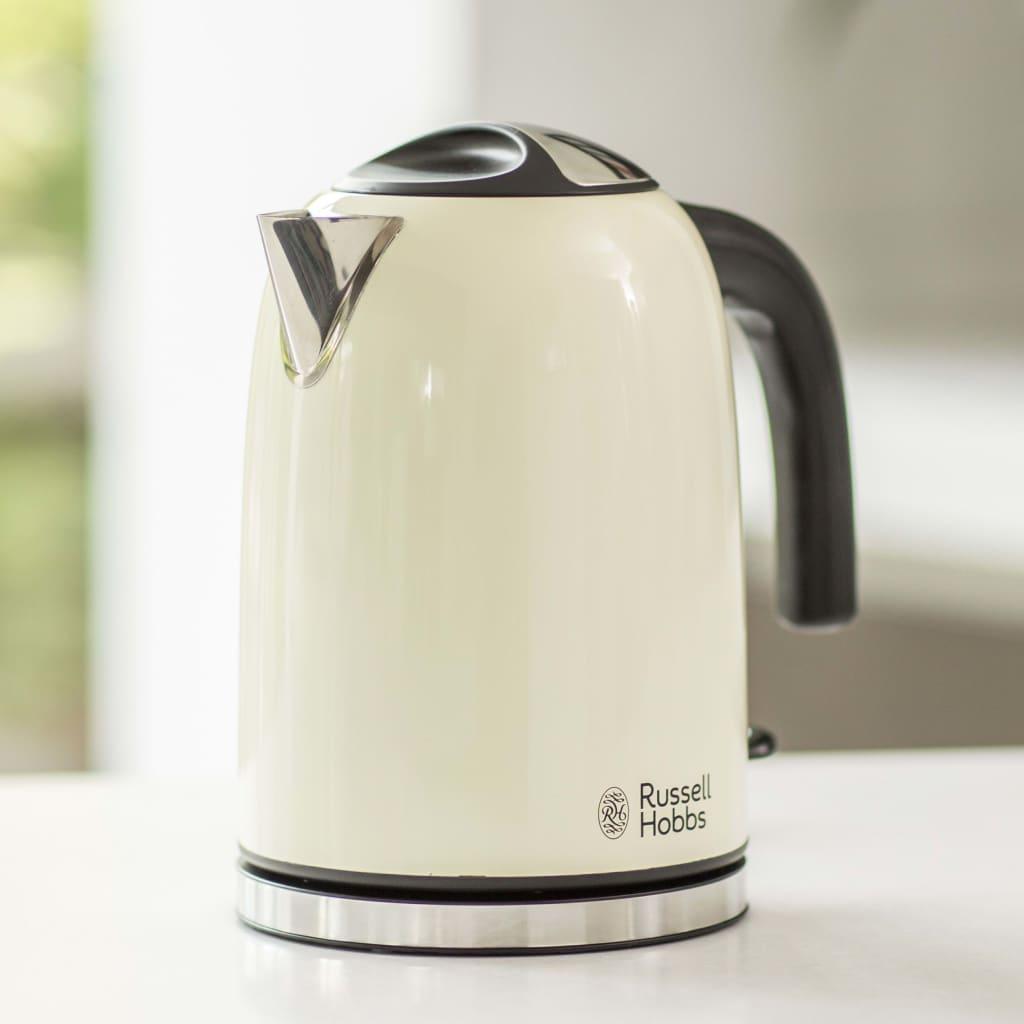 Russell Hobbs Vattenkokare Colors Plus klassisk gräddvit 2400 W 1,7 L