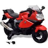 vidaXL Elmotorcykel för barn BMW 283 Röd 6 V