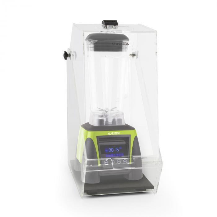 Klarstein Herakles 8G Ståmixer Grön med Cover 1800W 2,4 PS 2 Liter BPA-fri
