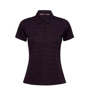 adidas Golf W Nvlty Ss P T-shirts & Tops Polos Lila Adidas Golf