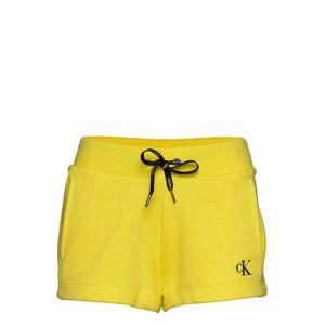 Calvin Ck Embroidery Regula Shorts Flowy Shorts/Casual Shorts Gul Calvin Klein Jeans