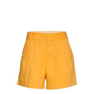 GAP 5 Pleated Khaki Short Shorts Chino Shorts Gul GAP