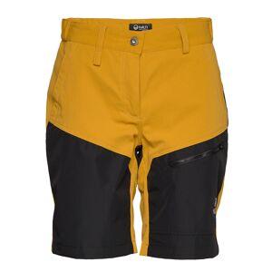 Halti Hiker Women'S Shorts Shorts Sport Shorts Gul Halti
