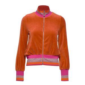 ODD MOLLY Unconquerablejacket Sweat-shirt Tröja Orange ODD MOLLY
