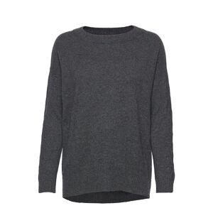ODD MOLLY All Set Sweater Stickad Tröja Grå ODD MOLLY
