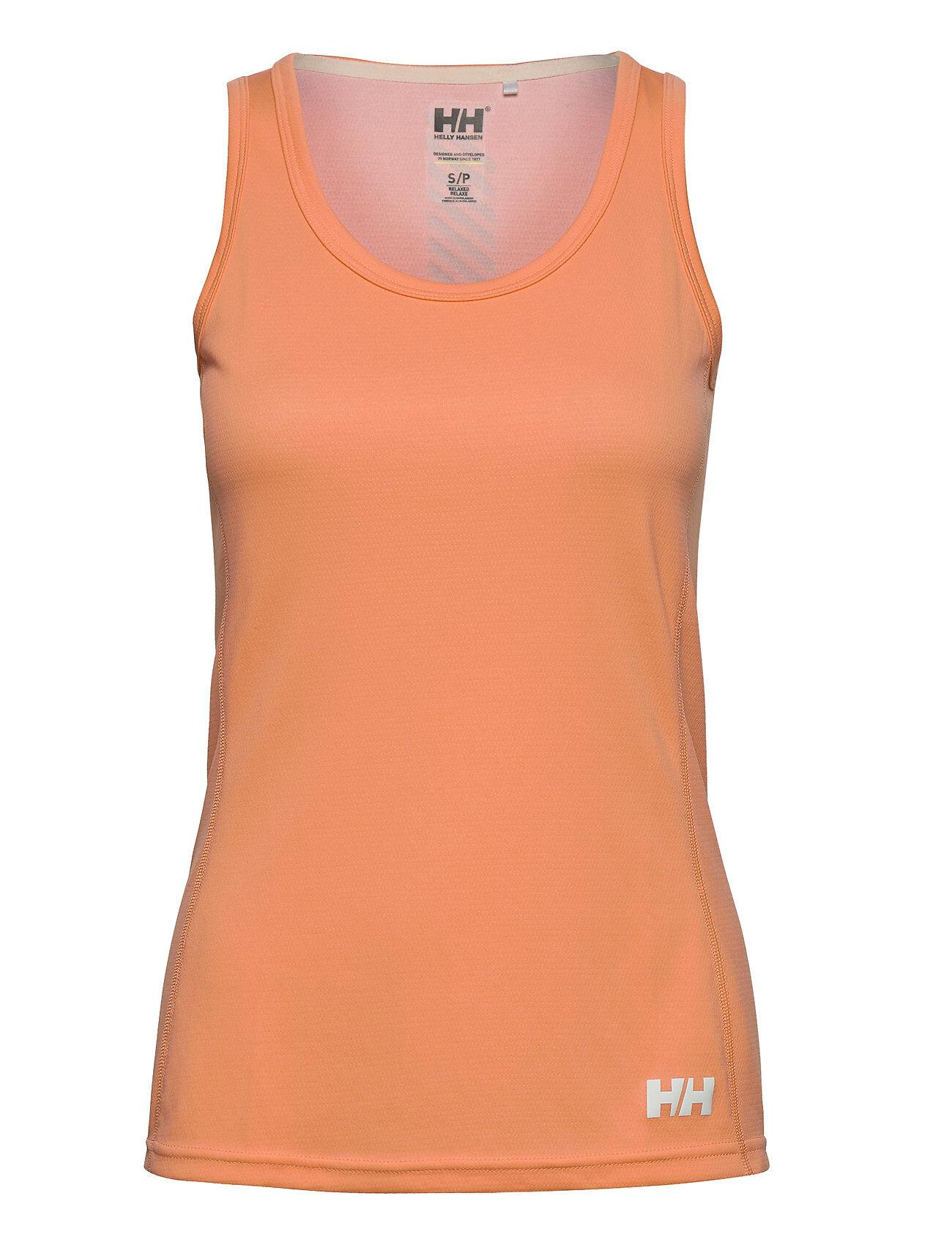Helly Hansen W Hh Lifa Active Solen Singlet T-shirts & Tops Sleeveless Orange Helly Hansen