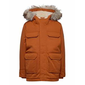 Abercrombie & Fitch Kids Boys Outerwear Parka Jacka Gul Abercrombie & Fitch