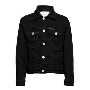 Calvin Unisex Trucker Sust Black Str Outerwear Jackets & Coats Denim & Corduroy Svart Calvin Klein