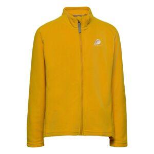 Didriksons Monte Kids Jkt 5 Outerwear Fleece Outerwear Fleece Jackets Gul Didriksons