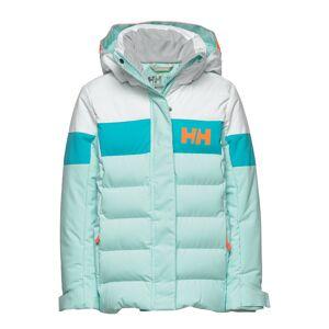 Helly Hansen Jr Diamond Jacket Outerwear Snow/ski Clothing Snow/ski Jacket Blå Helly Hansen