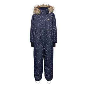 Hummel Hmlicy Snowsuit Outerwear Snow/ski Clothing Snow/ski Suits & Sets Blå Hummel