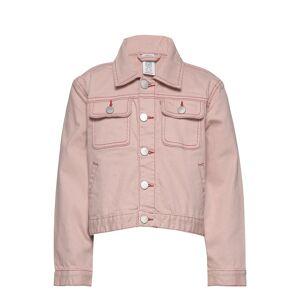Lindex Jacket Twill Ester Outerwear Jackets & Coats Denim & Corduroy Rosa Lindex