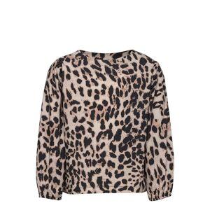 LMTD Nlfsellies 3/4 Shirt Blus Tunika Brun LMTD