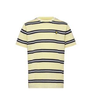 Scott Wide Double Stripe T-Shirt Navy Blazer T-shirts Short-sleeved Gul Lyle & Scott Junior