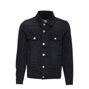 Mads Nørgaard Washed Black/Black Ziggilo Outerwear Jackets & Coats Denim & Corduroy Svart Mads Nørgaard