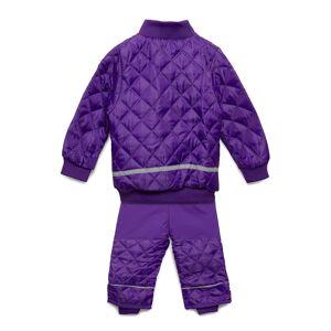 Mikk-Line Termo Set W. Fleece In Jacket Outerwear Thermo Outerwear Lila Mikk-Line
