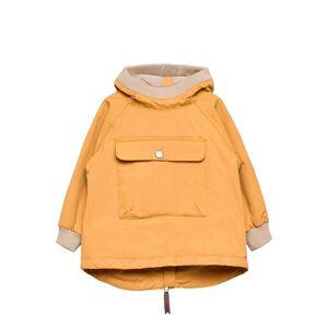 Mini A Ture Baby Vito Fleece Anorak, M Outerwear Shell Clothing Shell Jacket Gul Mini A Ture