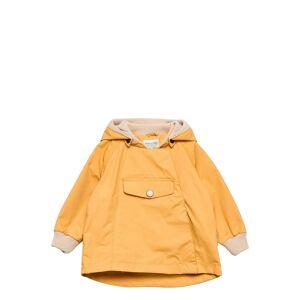 Mini A Ture Wai Fleece Jacket, M Outerwear Shell Clothing Shell Jacket Gul Mini A Ture