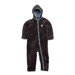 Minymo 37 - Pramsuit Teddy Fleece Outerwear Fleece Outerwear Brun Minymo
