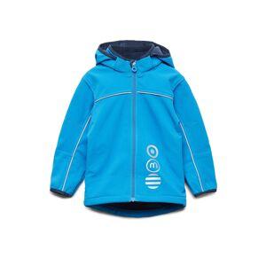 Minymo Basic 45 -Softshell Jakke Outerwear Softshells Softshell Jackets Blå Minymo
