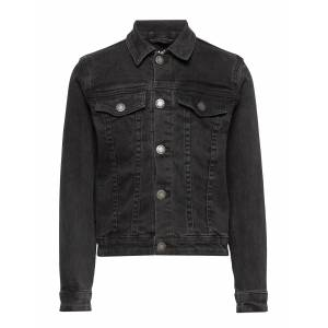 Molo Heidi Outerwear Jackets & Coats Denim & Corduroy Svart Molo