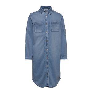name it Nkfbatora Dnm 1349 Shirt Dress Klänning Blå Name It