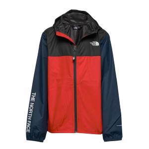 The North Face Y Reactor Wind Jkt Outerwear Jackets & Coats Windbreaker Multi/mönstrad The North Face