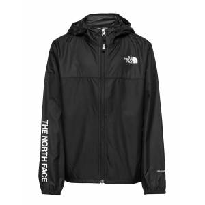 The North Face Y Reactor Wind Jkt Outerwear Jackets & Coats Windbreaker Svart The North Face