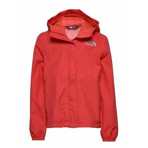 The North Face G Resolve Refl Jkt Outerwear Rainwear Jackets Röd The North Face