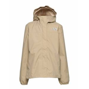 The North Face G Resolve Refl Jkt Outerwear Rainwear Jackets Beige The North Face