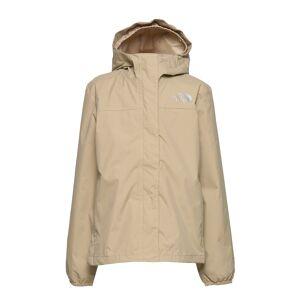 The North Face G Resolve Refl Jkt Outerwear Rainwear Jackets Beige The North Face