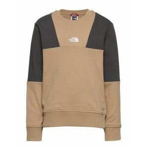 The North Face Y Yafita Crew Sweat-shirt Tröja Beige The North Face