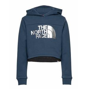 The North Face G Cropped Hoodie Hoodie Blå The North Face