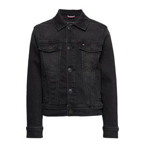 Tommy Hilfiger Trucker Boys Dusbst Outerwear Jackets & Coats Denim & Corduroy Svart Tommy Hilfiger