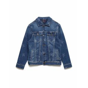 Tommy Hilfiger Unisex Denim Jacket Outerwear Jackets & Coats Denim & Corduroy Blå Tommy Hilfiger