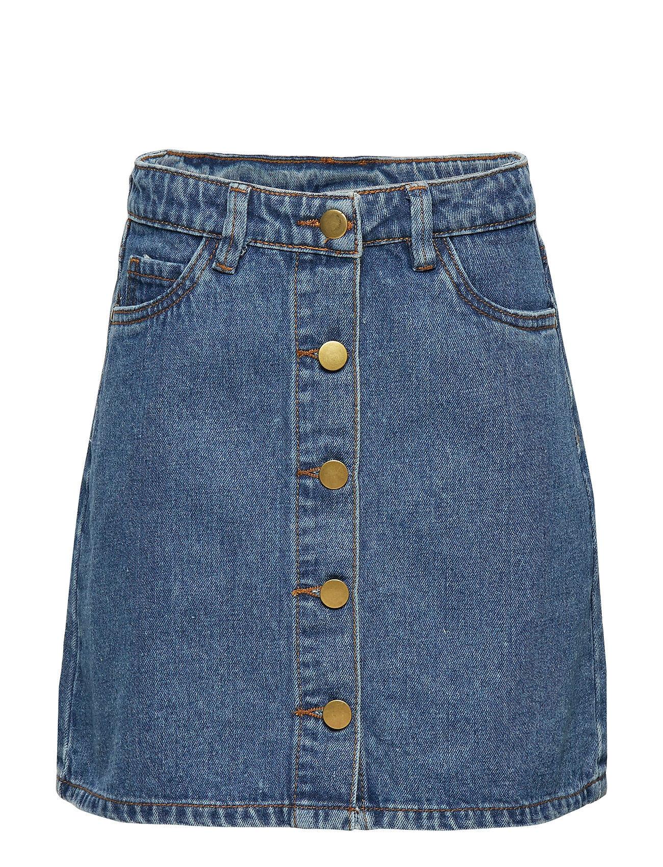 The New Marizza Denim Skirt Kjol Blå The New
