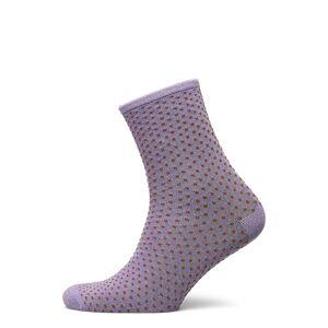 BECKSÖNDERGAARD Dina Small Dots Coll. Lingerie Hosiery Socks Lila BECKSÖNDERGAARD