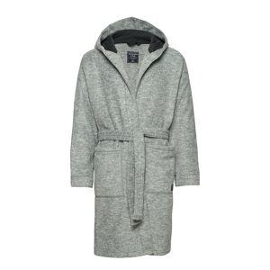 Abercrombie & Fitch Fleece Robe Morgonrock Badrock Grå Abercrombie & Fitch