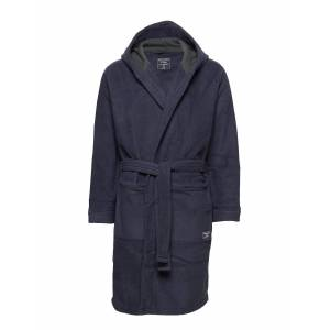 Abercrombie & Fitch Fleece Robe Morgonrock Badrock Blå Abercrombie & Fitch