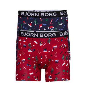 Björn Borg Shorts Sammy Bb Fun Santa & Bb Fu Boxerkalsonger Multi/mönstrad Björn Borg
