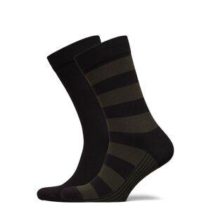 Björn Borg Sock Ankle Bb Block Stripe Underwear Socks Regular Socks Multi/mönstrad Björn Borg