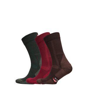 Danish Endurance Classic Merino Wool Hiking Socks 3 Pack Underwear Socks Regular Socks Multi/mönstrad Danish Endurance