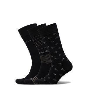 Giorgio Armani Socks Underwear Socks Regular Socks Svart Emporio Armani
