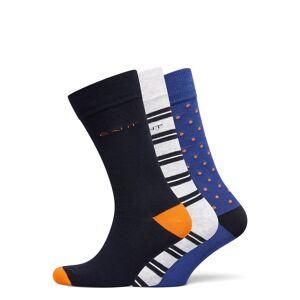 GANT D2. 3-Pack Mix Socks Gift Box Underwear Socks Regular Socks Multi/mönstrad GANT