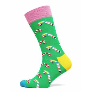 Happy Socks Candy Cane Sock Underwear Socks Regular Socks Grön Happy Socks